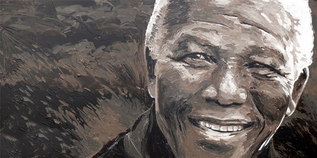 "Nelson Mandela ""The Invictus"" - An Unconquered Soul, An Unbeaten Man"
