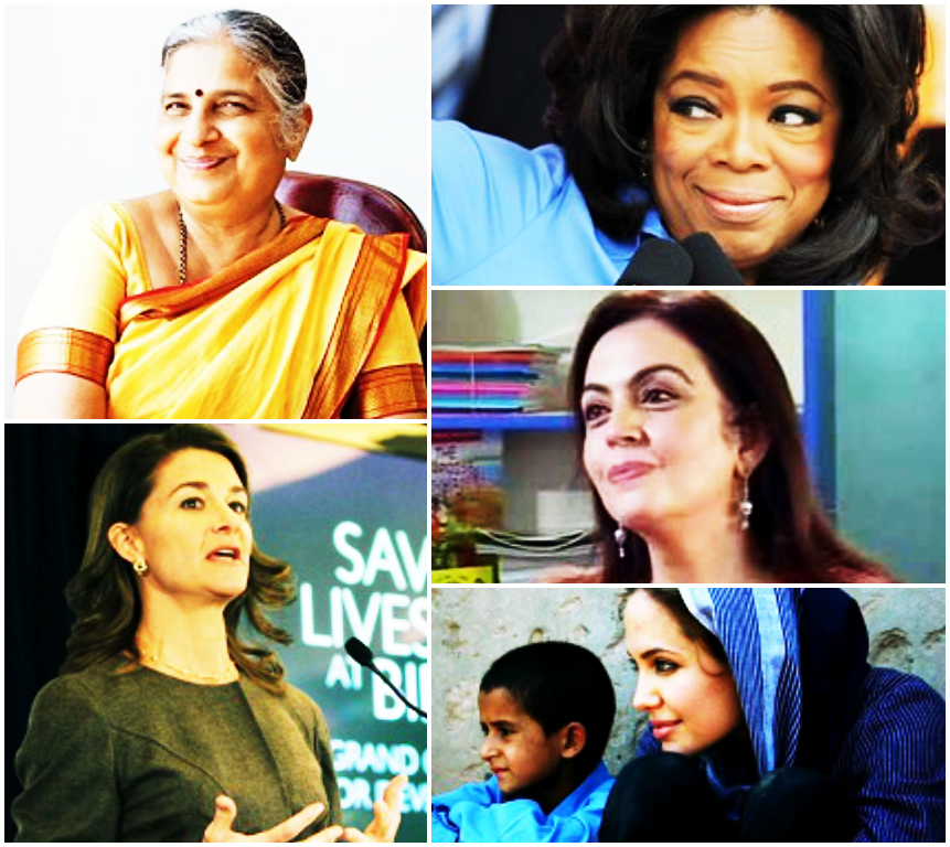 5 Powerful Women With A Billion Dollar Heart