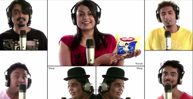 Indian ads tribute
