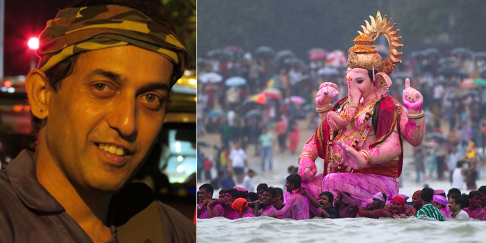 Anand Pendharkar - The Eco Warrior Behind The Fish Friendly Ganesha Idols