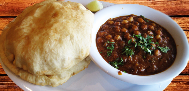 Chole Bhature - a musteat in Delhi