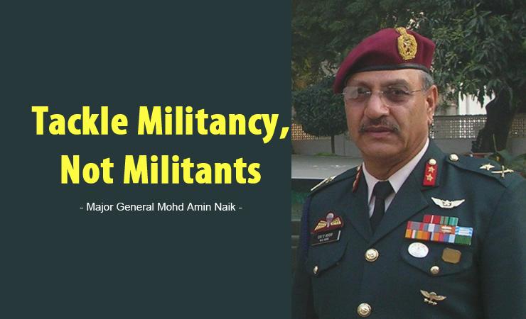 Major General Mohd Amin Naik