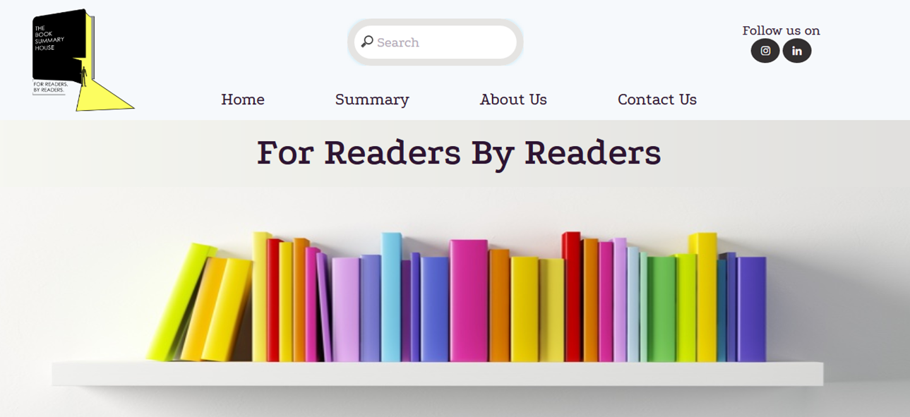 My Story - How I Turned My Simple Personal Habit Of Reading Into A Startup