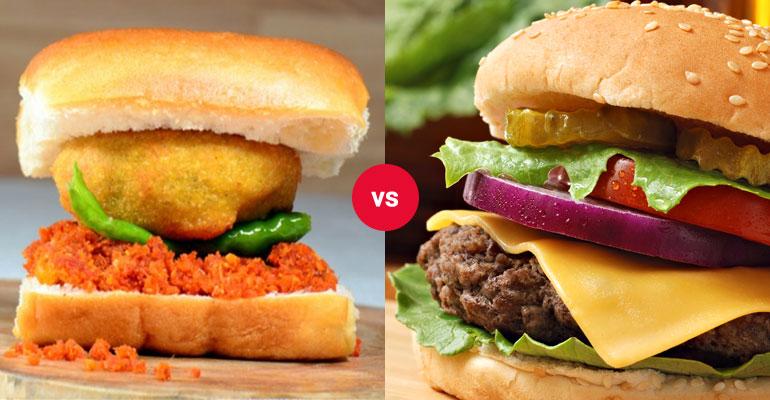 vada pav vs burger