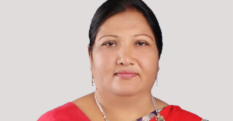 Sharmila Praful Khristi female bouncer