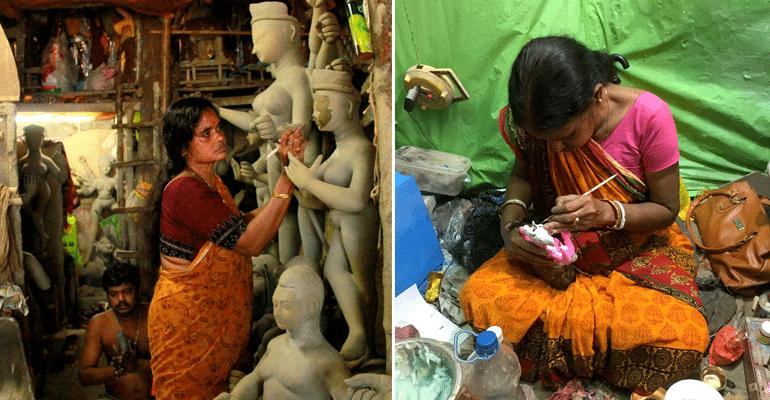 women idol makers kolkata