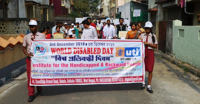 IHBP disability rally