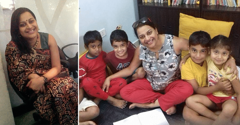 This Bengaluru Woman Teaches Sanskrit Shlokas Globally To Children To Keep Traditional Roots Alive