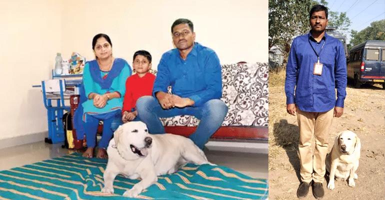 police dog rani ganesh rajashree phapale