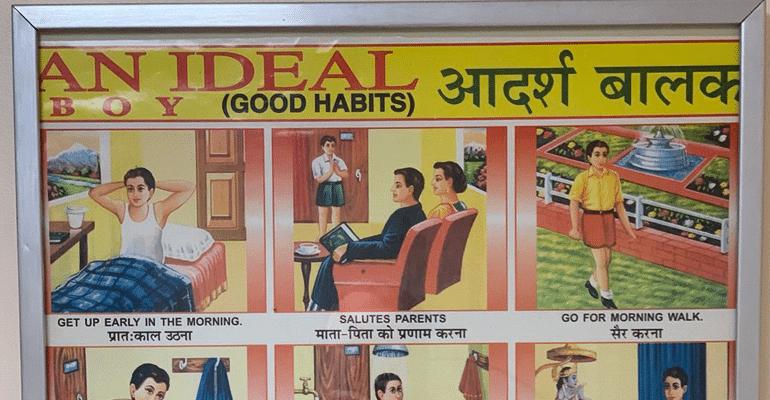"""British Comedian Stephen Fry Shares """"Adarsh Balak"""" Chart, Netizens Go Crazy"""