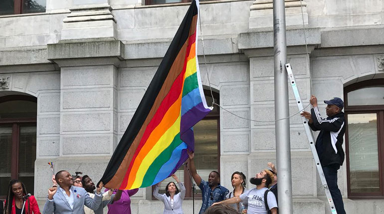 new rainbow flag lgbtqia