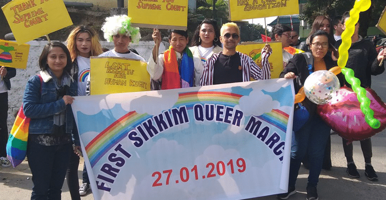 sikkim first queer pride parade
