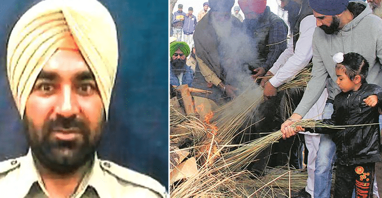 """Father Has Been Hurt, Cannot Speak,"" Says 5-YO Son Of Martyred CRPF Jawan As He Lights Pyre"