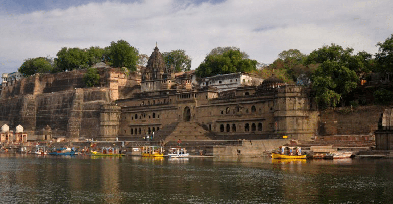 Maheshwar - The City On The Banks Of The Narmada River