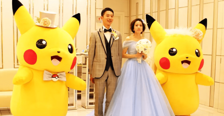 PIKA PIKA D-DAY? You Can Now Have A Pokemon Themed Wedding If You Are In Japan