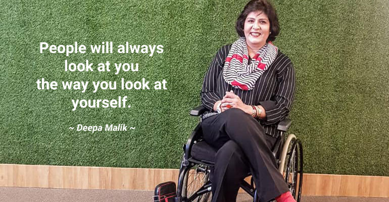With 90+ Medals, Padma Shri Deepa Malik Is An Inspiration To Conquer Our Disabilities