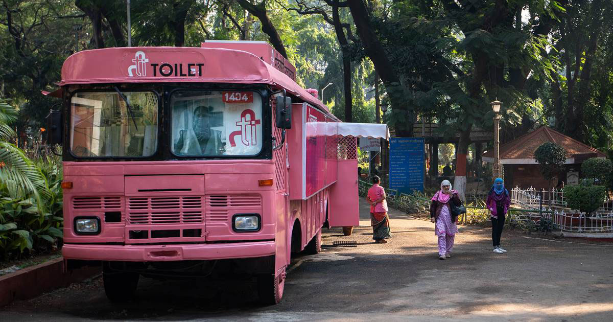 Good News For Women In Mumbai! How About Mobile Toilets With WiFi And TV?