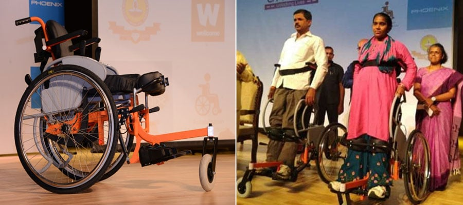 Arise - IIT Madras Develops Unique Standing Wheelchair For Differently-Abled People