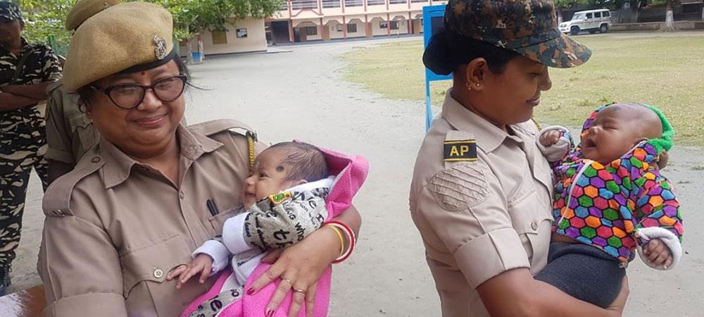 Assam Police women