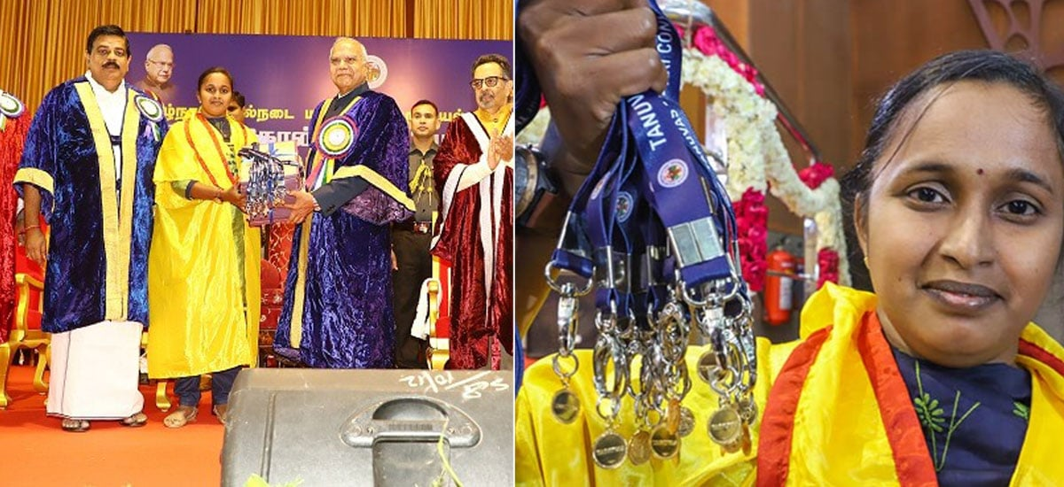 This First Generation Graduate Receives Veterinary Degree Along With 18 Medals