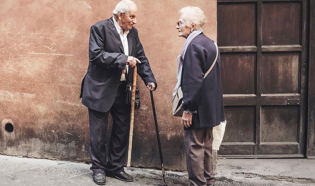 elderly people care
